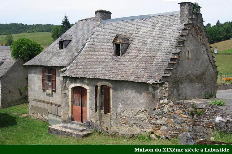La maison d 39 habitation dans les baronnies au 19 me si cle for La maison du jetable